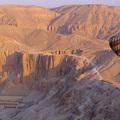 Hőlégballonok a piramisok felett