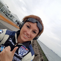 Melanie ma reggel két tized másodperccel maradt le a dobogóról Japánban a Red Bull gyorsasági repülőversenyén