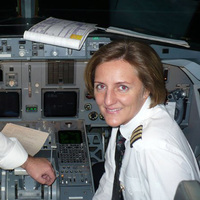 Ex-MALÉV pilótanő Kínában