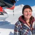 Lauren sarkvidékekre repül