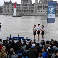 Képek a Red Bull repülőverseny budapesti futamáról