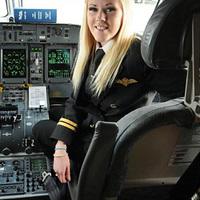 Az egyik legfiatalabb pilótalány