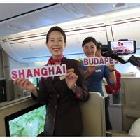 Sanghaj Budapestről levegőben Dreamlinerrel 10 óra plusz mágnes vasúttal 8 perc