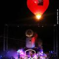 Hőlégballon a vízi színpadon