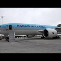 Korean Air Cargo első járata megérkezett Budapestre