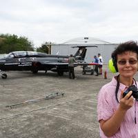 Delfin egykori vadászgép berepülésén jártam a tököli reptéren