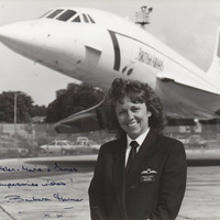 A fodrászból lett Concorde pilótanő