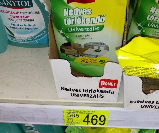 07c9097d7686 Csak a polcon létezik az Auchan akciója, és még nekik áll feljebb ...