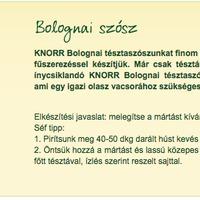 Eltüntette a Knorr a Bolognai mártásból a darált húst