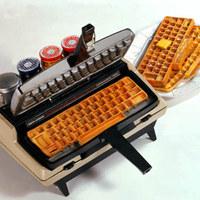 A gofrisütõ írógép és barátai