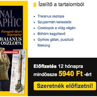 Nem becsüli meg előfizetőjét a National Geographic
