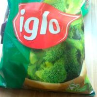 Jeget árul a brokkoli mellé az Iglo