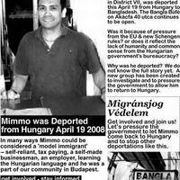 Aktivista Homár: mentsük meg a Bangla Büfé deportált szakácsát, Mimmót!