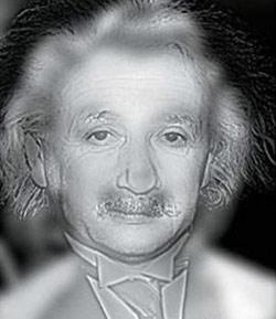 Einstein látásvizsgálat.