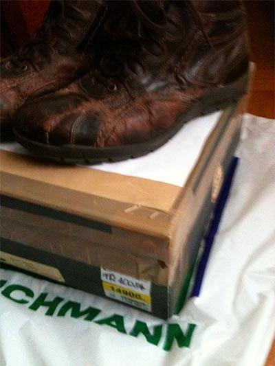 Nem bírta a Deichmann-cipő a havat - Tékozló Homár bb7abeda8e
