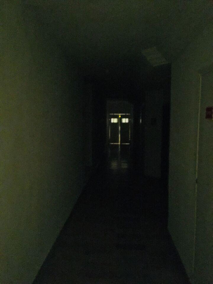 Nagyon sötét.