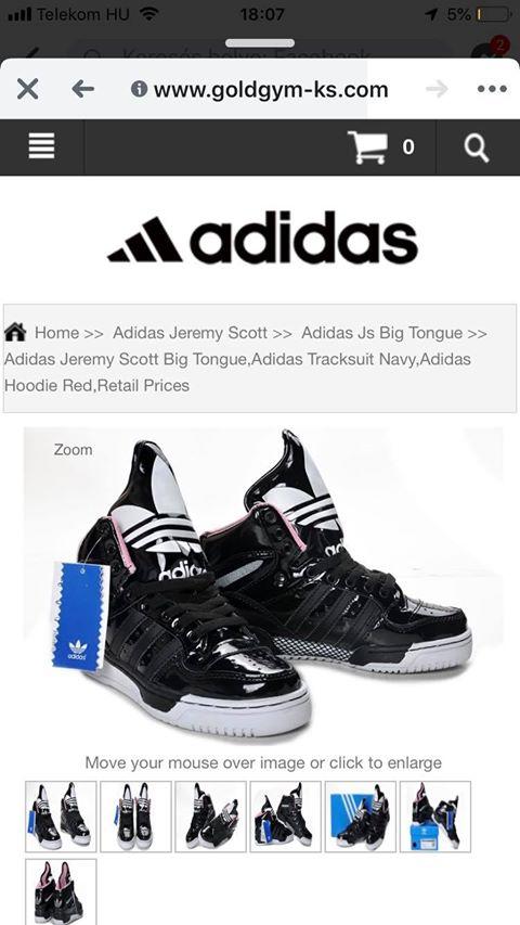 Olvasónk ezt az Adidas cipőt rendelte meg 30 000 forintért...