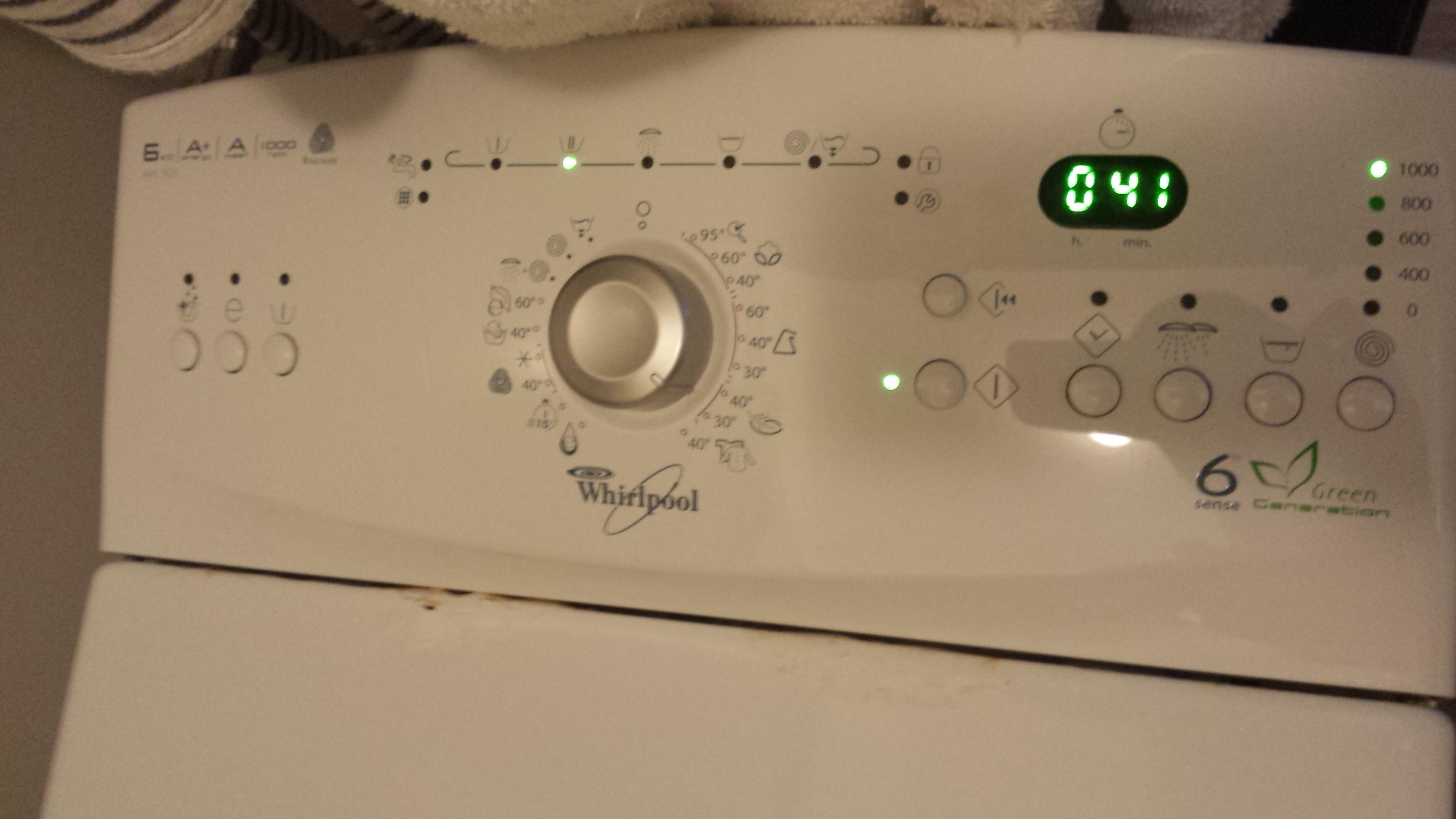 Indesit felültöltős mosógép hibák