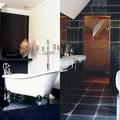 Stílustippek fekete-fehér fürdőszobákhoz