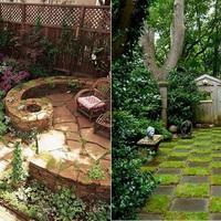 8 inspiráló ötlet kicsi kertekhez
