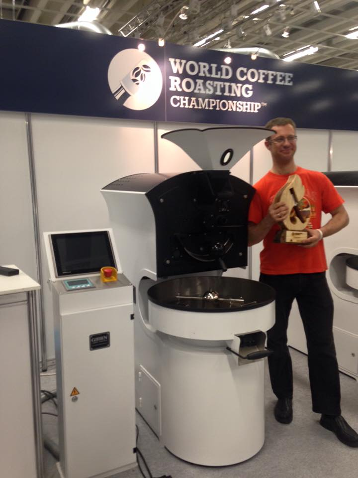 Interview with 2015 World Coffee Roasting Champion Audun Sørbotten