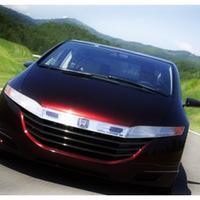 A Honda FCX tanulmányautója menetkész (Genf)