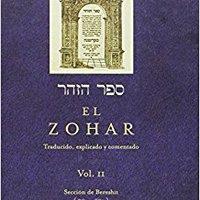 ?ZIP? EL ZOHAR, VOL. II (Coleccion Cabala Y Judaismo) (Spanish Edition). fines Toyota Calidad Posts programa objetivo Inicio