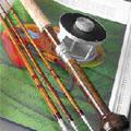 Horgászat  bamusz bottal  -  Egy kis romantika