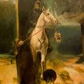 Horthy Miklós és kora: történelemhamísitó festmény