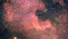 Észak-Amerika köd, NGC 7000