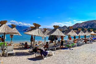 Baska strandja - Ilyen a tökéletes strand Horvátországban!