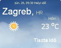 horvátország 2010 napi időjárás előrejelzés 06.28