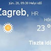 Horvátország napi időjárás előrejelzés 06.28