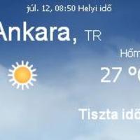 Horvátország aktuális időjárás előrejelzés, 2010. július 12.