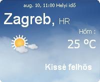 előrejelzés időjárás vihar horvátországi információ 2010 horvátország augusztus
