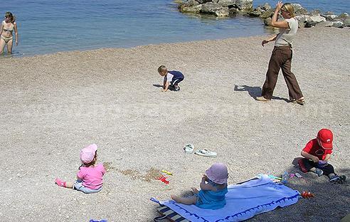 2010 horvátországi horvátország információ csodás tengerpart part homokos
