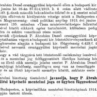 Vármegyei képviselők - P. Ábrahám Dezső