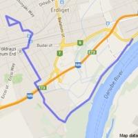 Legény a gáton 16,4 km