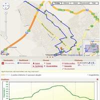 Nehezebb hajnali futás - 19,4 km dombokon
