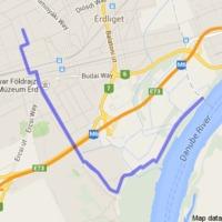 14 km hajnali hétkor