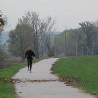 Jótékonysági futás a gáton