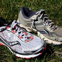 Az első futás az új cipőben