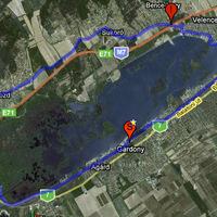 A Velencei-tó körül (28 km)