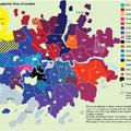 London szurkolói térképe