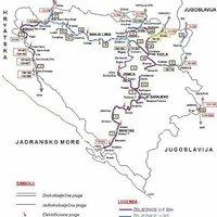 20 évvel a háború után: Bosznia-Hercegovina vasútja