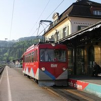 Fogaskerekű vasutak a Bódeni-tó partján: Bergbahn Rheineck-Walzenhausen (RhW)