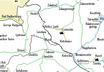 magyarország szlovénia térkép Határeset: Szlovénia   Hova megy ez a vonat? magyarország szlovénia térkép