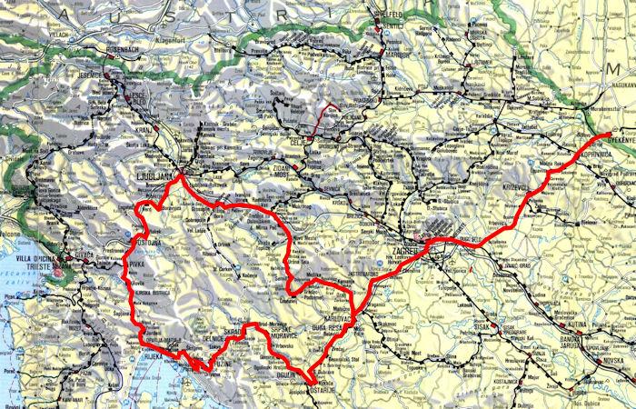 szlovénia magyarország térkép Határugró: Utazás Magyarország Horvátország Szlovénia határain  szlovénia magyarország térkép