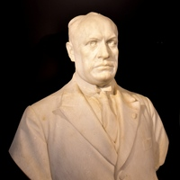 Mussolini, a Fej