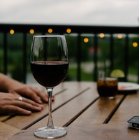Utolsó interjú kör: bor- és sajtkóstoló
